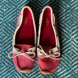 Keen Catalina loafer in red